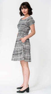 G&F Sadie Cotton Blend Summer Smock Dress