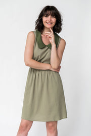Cotton Blend Carrie Shift Dress