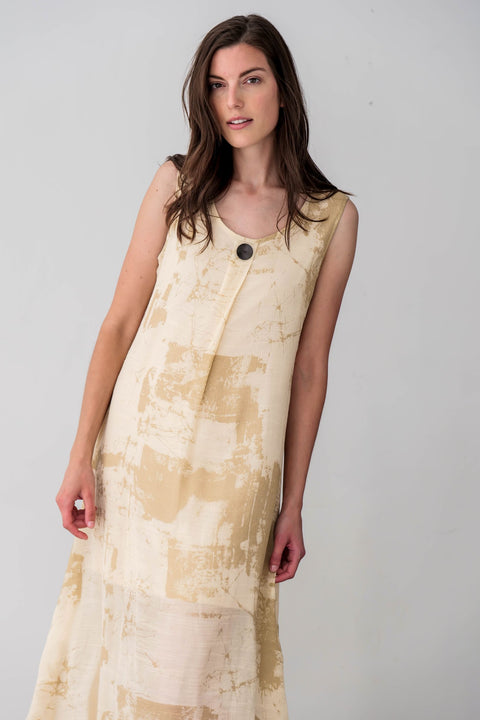 Cotton Blend Mary Dress