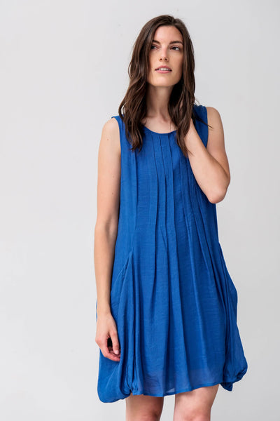 G&F Rosalie Cotton Blend Dress