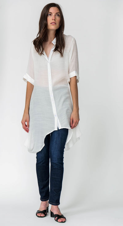 Cotton Blend Amelia Shirt