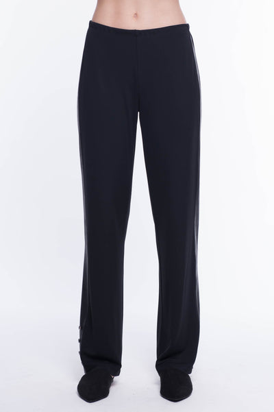 Contrast Trim Dress Pant