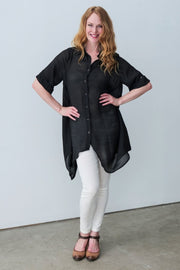 Amelia Shirt - Breathable Naturals | Glam & Fame Clothing