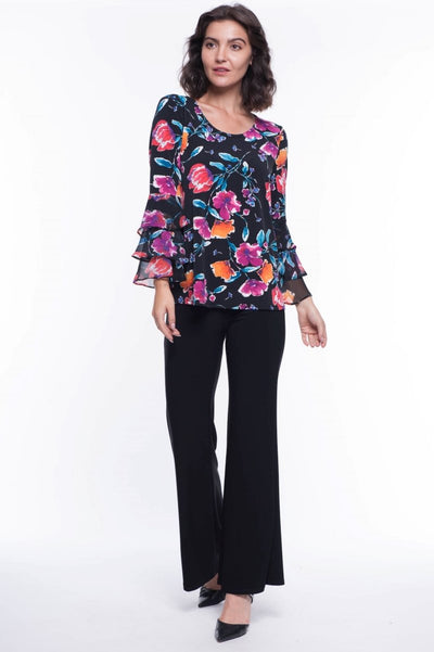 Brandy Ruffle Blouse - Breathable Naturals | Glam & Fame Clothing