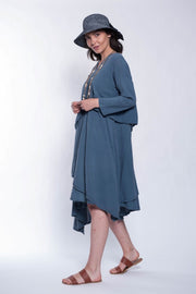 Cotton Cloud Dress - Breathable Naturals | Glam & Fame Clothing