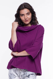 Cotton Ella Top - Breathable Naturals | Glam & Fame Clothing