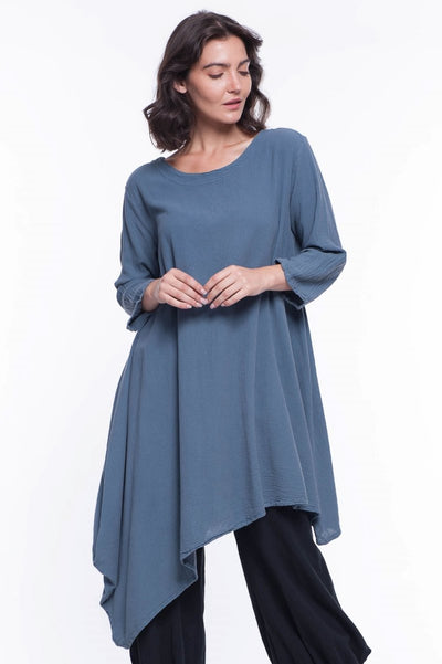 Hina Cotton Tunic - Breathable Naturals | Glam & Fame Clothing