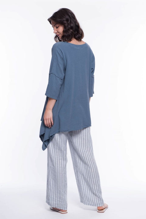 Cotton Holly Tunic - Breathable Naturals | Glam & Fame Clothing