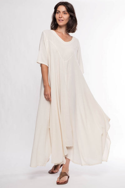 Cardinal Cotton Maxi Dress - Breathable Naturals | Glam & Fame Clothing