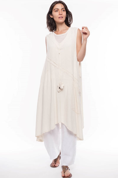 Starr Cotton Kaftan - Breathable Naturals | Glam & Fame Clothing