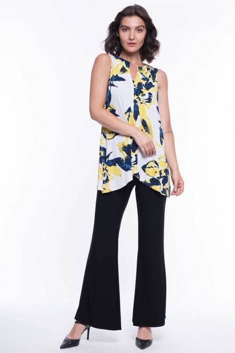 Daphnee Floral Sleeveless Blouse - Breathable Naturals | Glam & Fame Clothing
