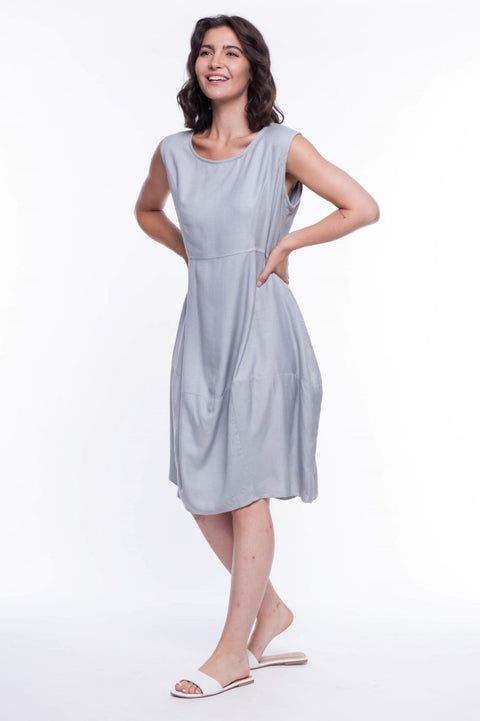 Darling Midi Dress - Breathable Naturals | Glam & Fame Clothing