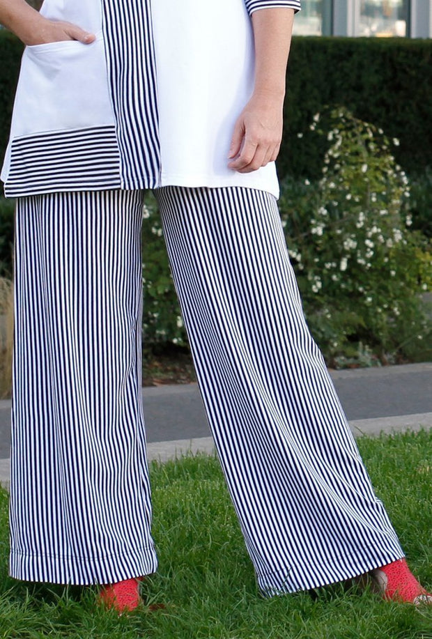 Diane Kennedy Axion Stripe Pants - Glam & Fame | Luxury Boutique