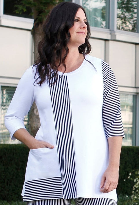 Premium Bamboo City Tunic - Glam & Fame | Breathable Naturals