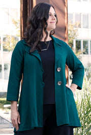 Premium Bamboo Mystique Jacket - Glam & Fame | Breathable Naturals