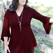 Premium Bamboo Spellbound Tunic - Glam & Fame | Breathable Naturals