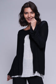 Double Layer Knit Top - Breathable Naturals | Glam & Fame Clothing