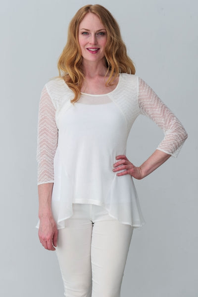 Eileen Top - Breathable Naturals | Glam & Fame Clothing
