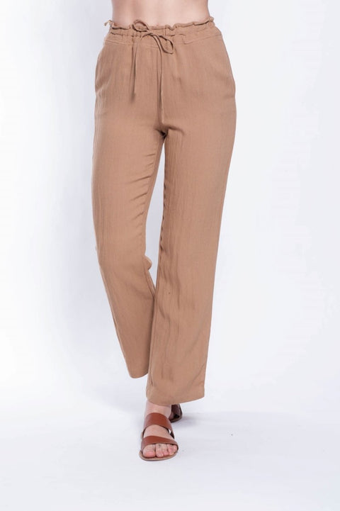 Eliza Pants - Breathable Naturals | Glam & Fame Clothing