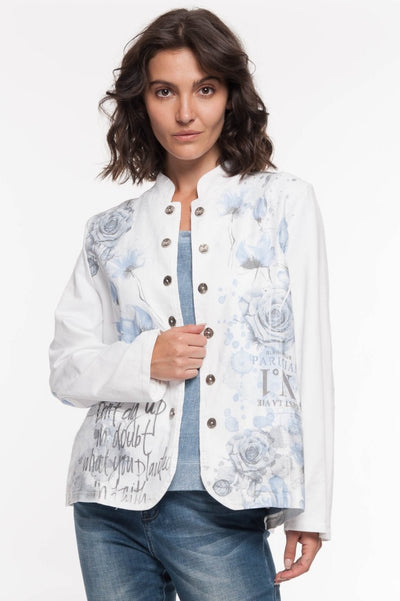 European Cotton Jacket - Breathable Naturals | Glam & Fame Clothing