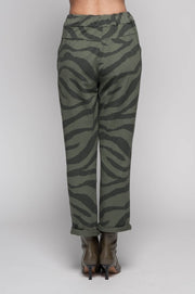 European Cotton Terry Pants Print - Breathable Naturals | Glam & Fame Clothing