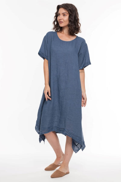 European Linen Maxi Dress - Breathable Naturals | Glam & Fame Clothing