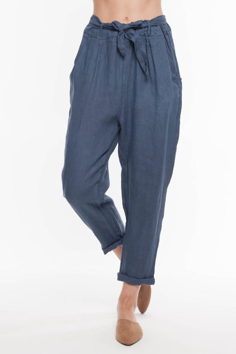 European Linen Pants - Breathable Naturals | Glam & Fame Clothing