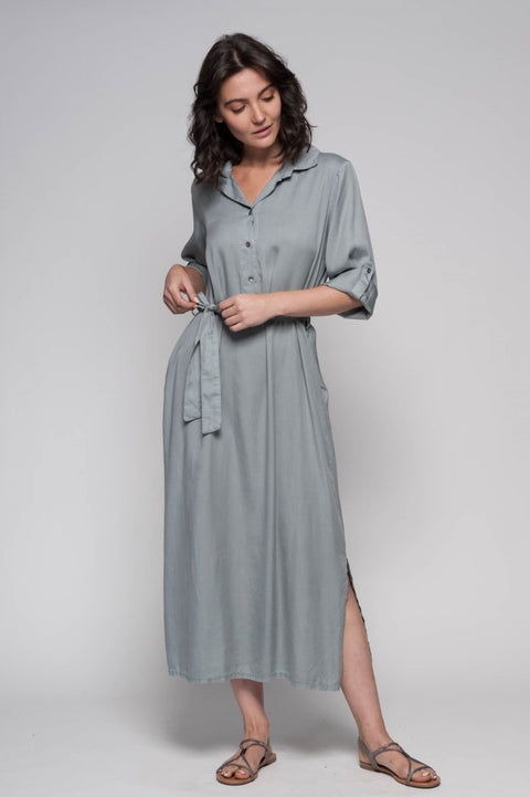 European Maxi Dress - Breathable Naturals | Glam & Fame Clothing