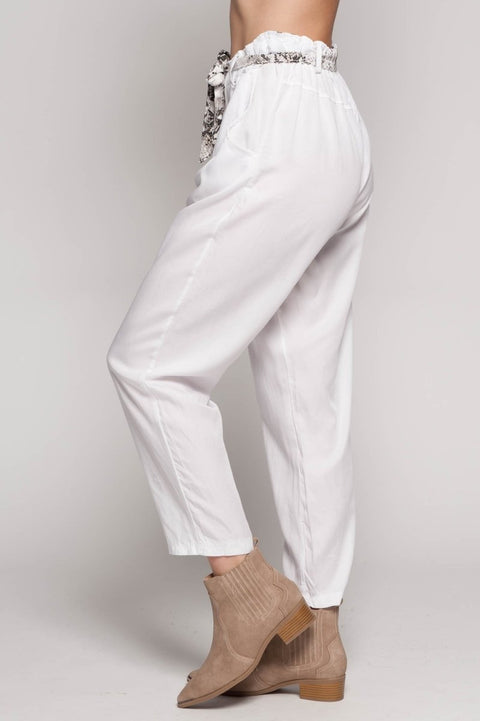 European Tencel Pant - Breathable Naturals | Glam & Fame Clothing