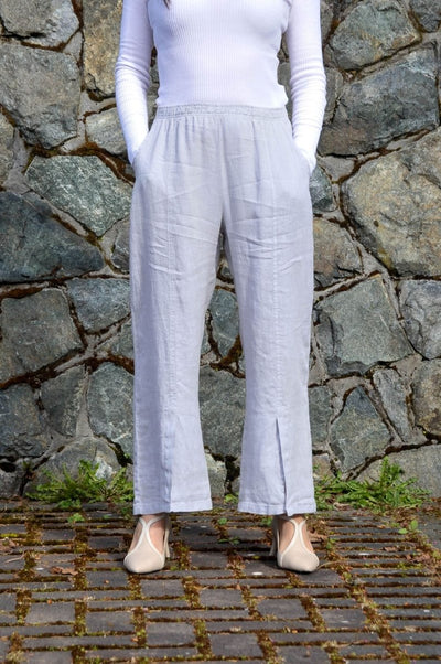 Premium Washed Linen Relaxed Pants - Glam & Fame | Breathable Naturals