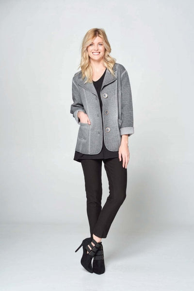 Quilt Stripe Jacket - Glam & Fame | Breathable Naturals