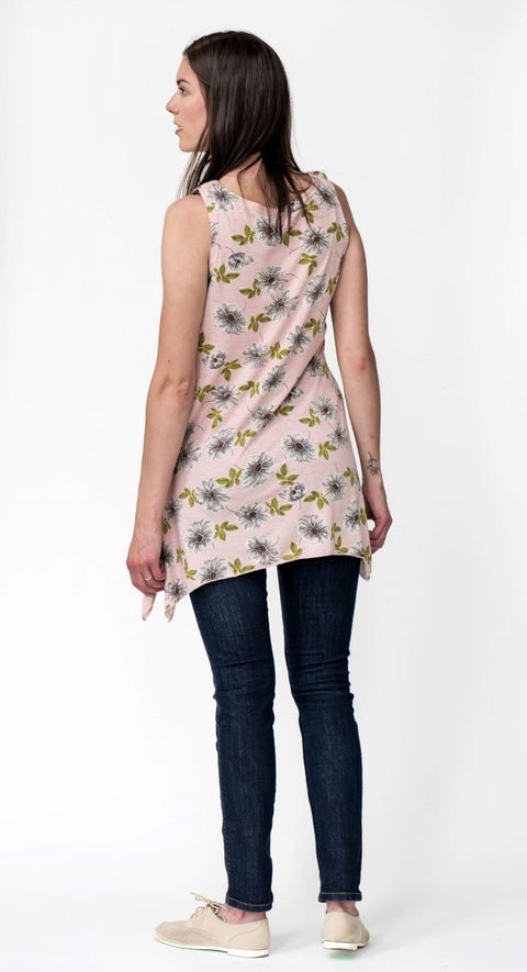 G&F Betty Tunic Top - Breathable Naturals | Glam & Fame Clothing