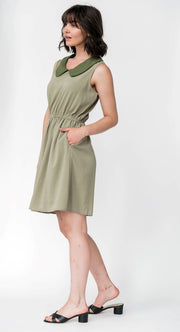 G&F Carrie Shift Dress - Breathable Naturals | Glam & Fame Clothing