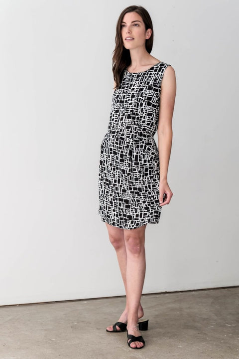 G&F Catherine Cotton Blend Shift Dress - Breathable Naturals | Glam & Fame Clothing