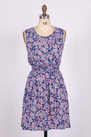 G&F Cora Summer Dress in Starlit Floral Print - Glam & Fame | Breathable Naturals