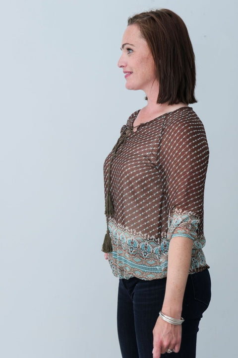 G&F Dalis Top - Breathable Naturals | Glam & Fame Clothing