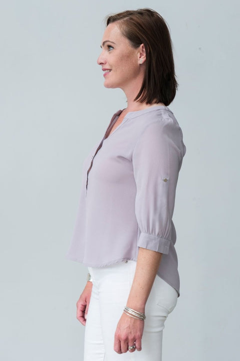 G&F Elsa Shirt - Breathable Naturals | Glam & Fame Clothing