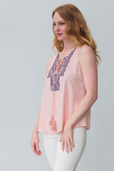 G&F Florence Top - Breathable Naturals | Glam & Fame Clothing