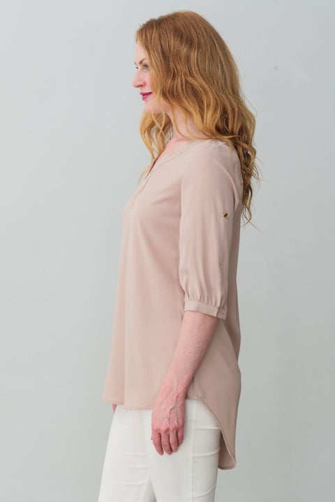 G&F Gili Top - Breathable Naturals | Glam & Fame Clothing