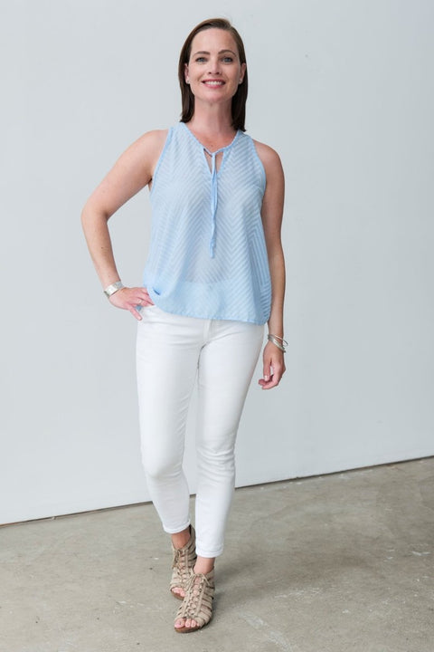 G&F Hailey Textured Top - Breathable Naturals | Glam & Fame Clothing