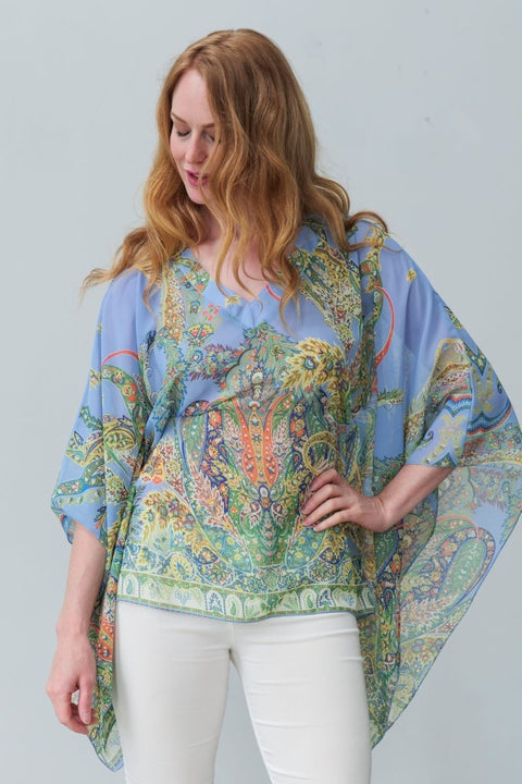 Halle Boho-Chic Top - Breathable Naturals | Glam & Fame Clothing