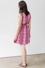 G&F Hannah Cotton Blend Summer Dress - Breathable Naturals | Glam & Fame Clothing