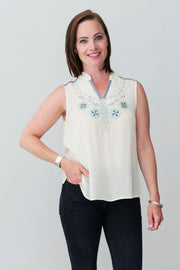 G&F Hope Top - Breathable Naturals | Glam & Fame Clothing