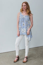 G&F Jocelyn Cotton Blend Tunic - Breathable Naturals | Glam & Fame Clothing
