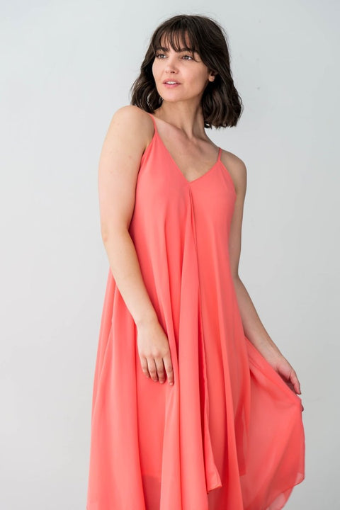 G&F June Dress - Breathable Naturals | Glam & Fame Clothing