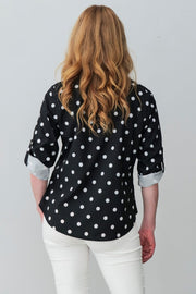 G&F Lilith Shirt - Breathable Naturals | Glam & Fame Clothing