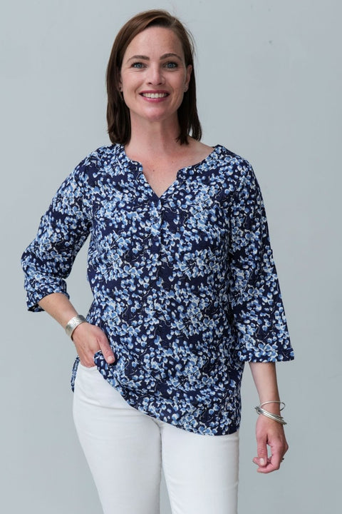 G&F Lilou Cotton Blend Shirt - Breathable Naturals | Glam & Fame Clothing