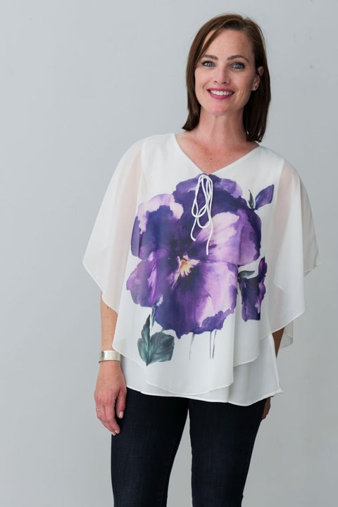 G&F Lotus Top - Breathable Naturals | Glam & Fame Clothing