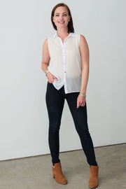 G&F Pauline Shirt - Breathable Naturals | Glam & Fame Clothing
