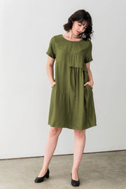 G&F Piper Dress - Breathable Naturals | Glam & Fame Clothing